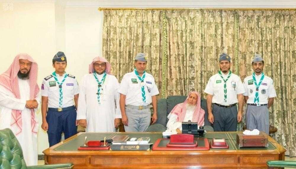 عبدالعزيز آل الشيخ: الكشافة تقدم عملاً مفيداً للحجاج