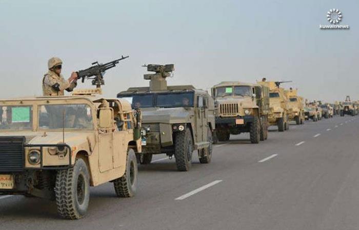 مقتل ضابط في الجيش المصري بانفجار عبوة ناسفة بمدرعته في شمال سيناء