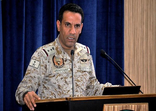 التحالف العربي:  يشدد على استمراره في التصدي لتهريب الأسلحة إلى اليمن