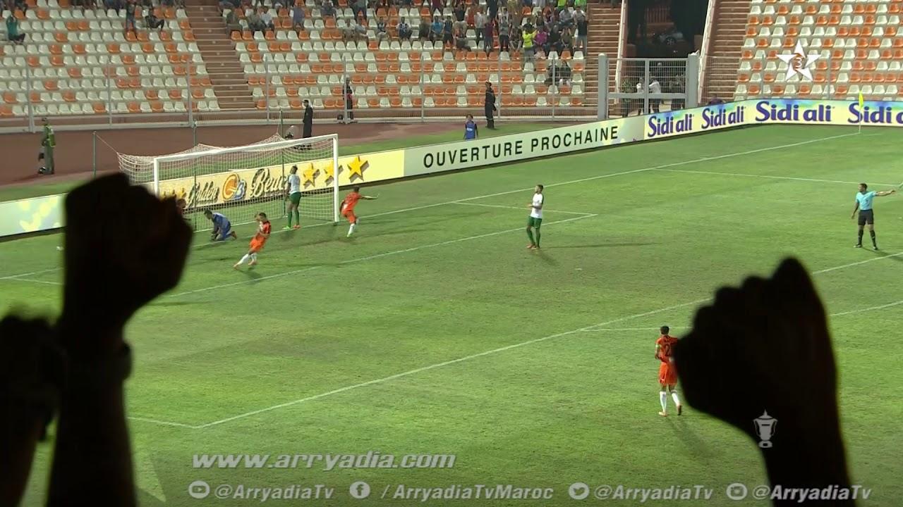 #كأس_العرش_دور_ال32  نهضة بركان 2-1 اتحاد تواركة هدف محمد فرحان في الدقيقة 81.