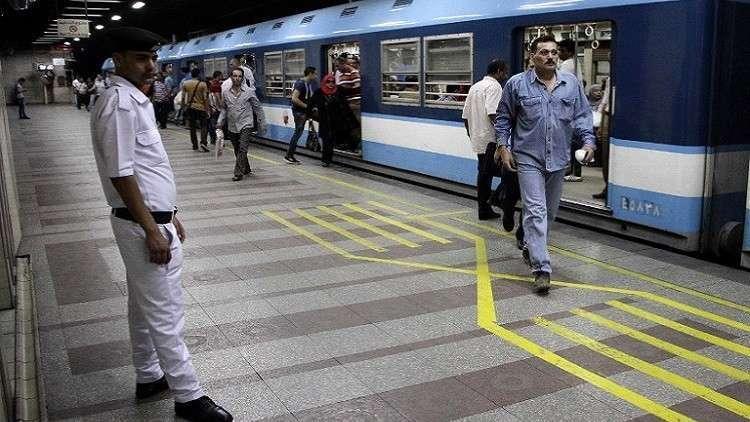 هيئة مترو الأنفاق فى مصر توجه رسالة للراغبين في الانتحار