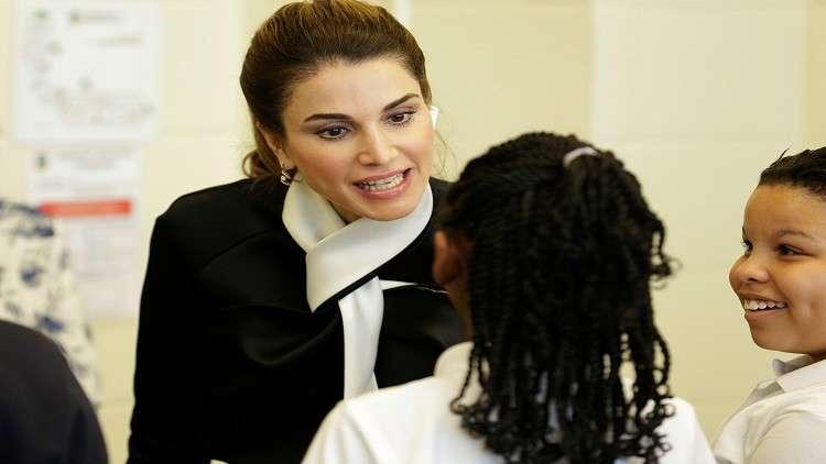 15 مليون طفل عربى خارج المدارس وفق تصريحات الملكة رانيا