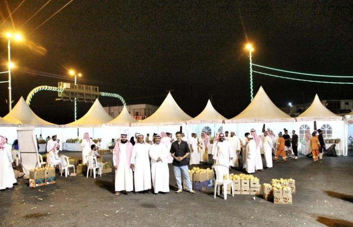 مهرجان الرمان الوطني السابع بمنطقة الباحة لهذا العام يشهد أكثر من 25 ألف زائر منذُ انطلاقته و3500 متسوق إلكتروني