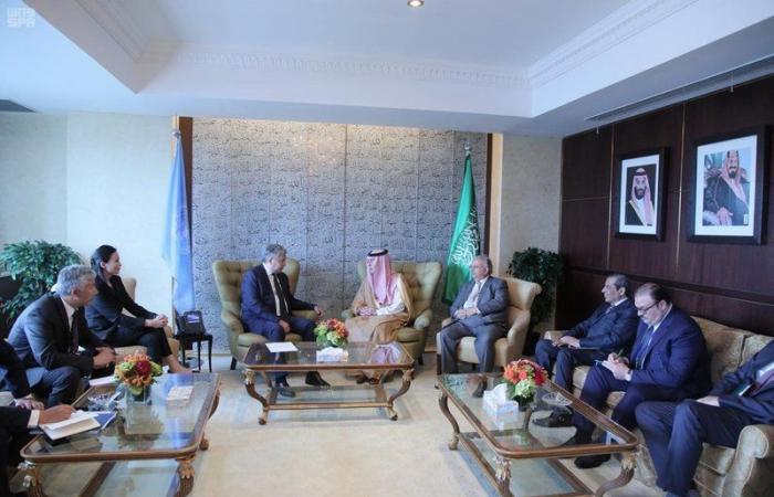 وزير الخارجية يشارك في الاجتماع رفيع المستوى بشأن سوريا ويستقبل عدداً من نظرائه