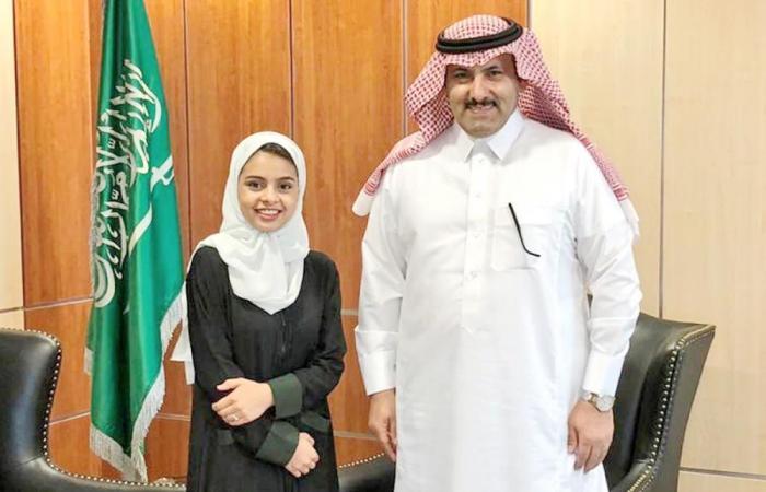 سفير خادم الحرمين الشريفين لدى اليمن يلتقي الطفلة اليمنية ندى الأهدل
