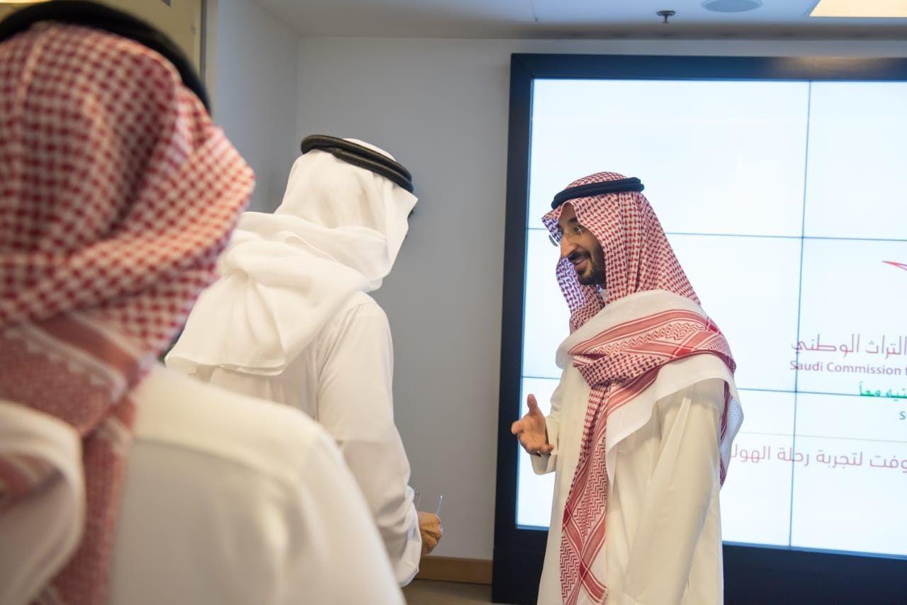 الأمير عبدالله بن بندر يزور مقر الهيئة العامة للسياحة والتراث الوطني بالرياض