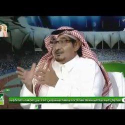 خالد الشعلان : البطولة العربية ناجحة و ستستمر في نجاحها حتى الادوار النهائية