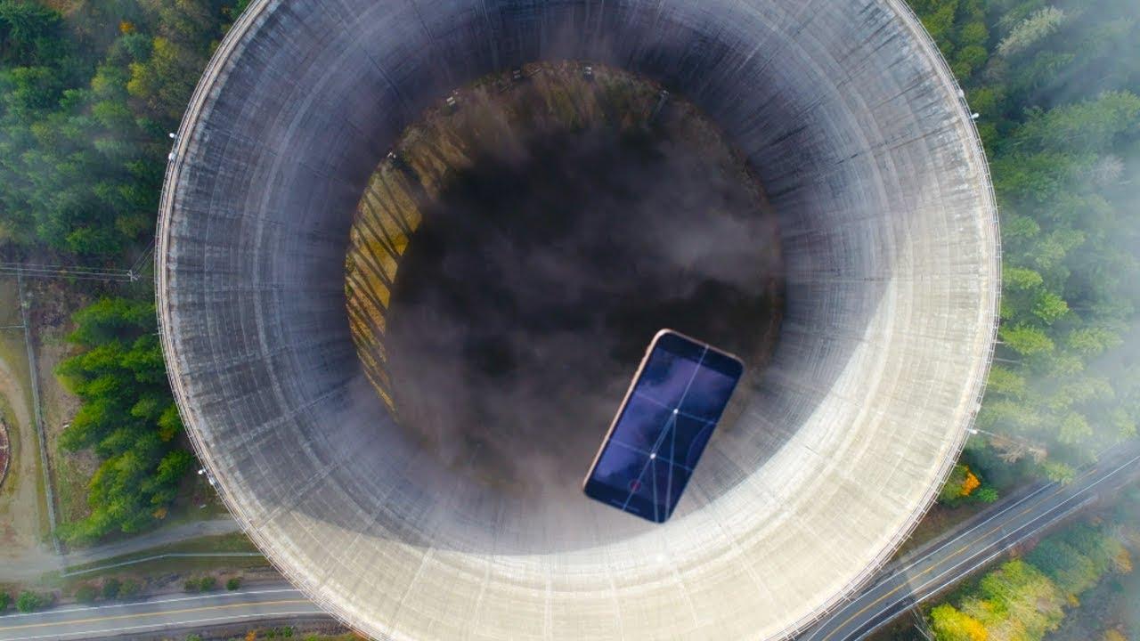 يرمى هاتف آيفون فى محطة نووية مهجورة… فيديو