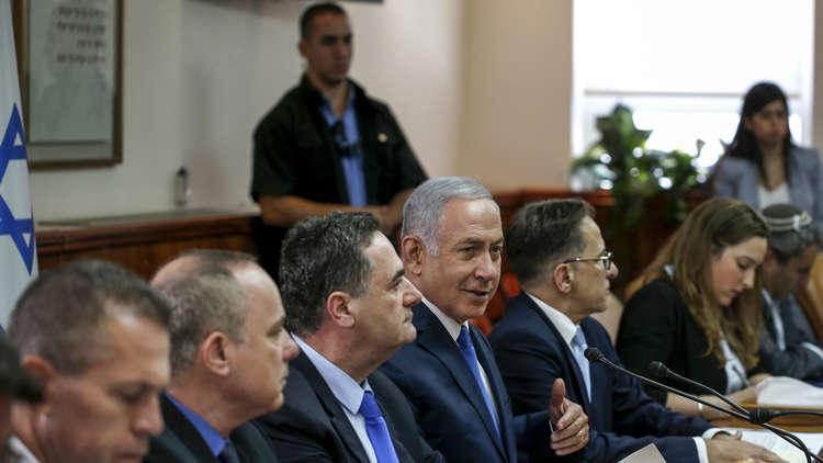 مجلس الوزراء الإسرائيلى المصغر  يوعز للجيش باستمرار العمليات العسكرية فى غزة حسب الحالة