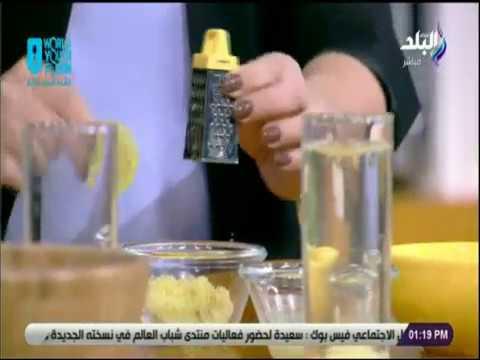بالفيديو طريقة تحضير مشروب ديتوكس صباحي للحفاظ علي الصحة