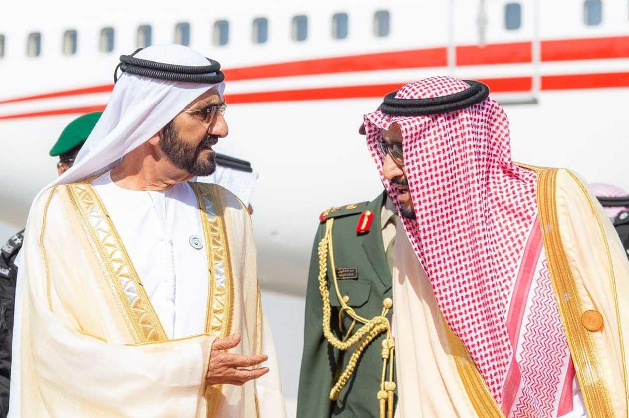 بدء وصول قادة وروؤساء وفود دول مجلس التعاون لدول الخليج العربية التوافد إلى الرياض