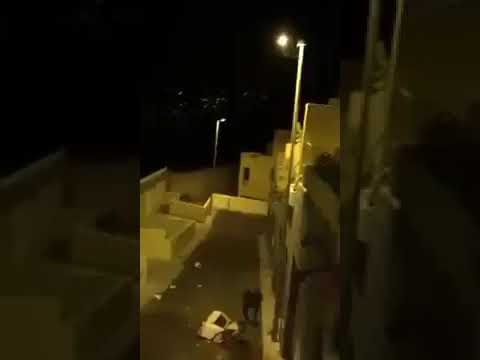 بالفيديو لص يتسلق لسرقة منزل… فماذا حدث له؟؟؟!!