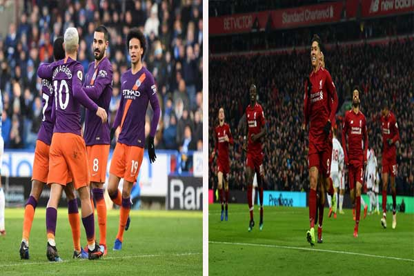 ليفربول يتصدر الدورى الإنجليزى لكرة القدم ومان سيتى يلاحقه