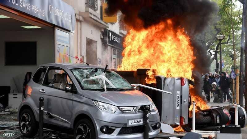 انفجار قوي في أحد المخابز بالعاصمة الفرنسية باريس
