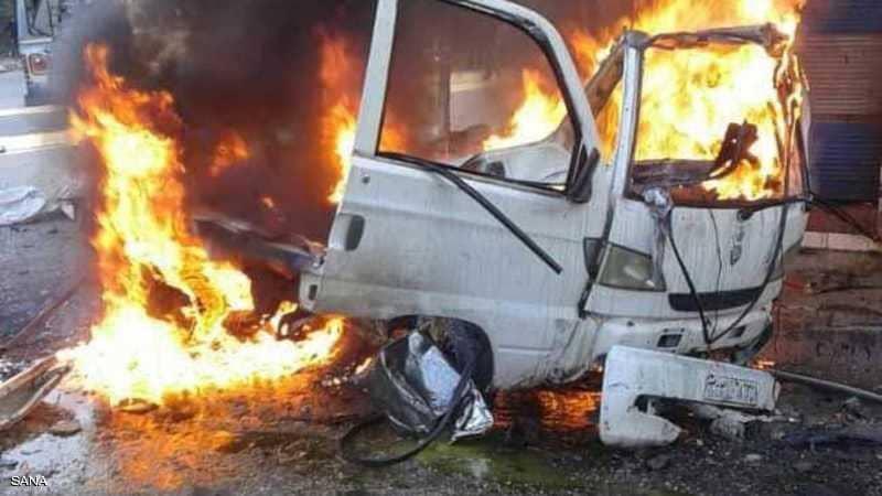 انفجار سيارة مفخخة في مدينة اللاذقية ومصرع السائق وإصابة 4 أخرين