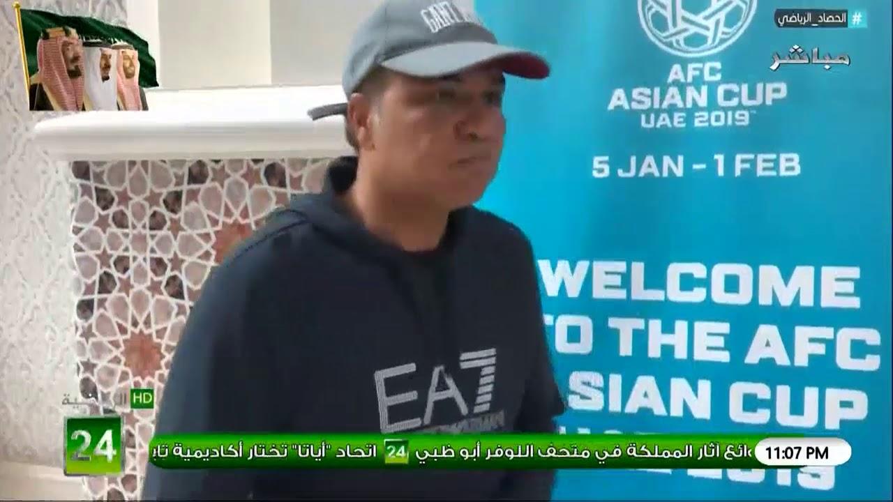 رياض الذوادي : نتمنى كشارع خليجي ان اول حضور مميز للمنتخب السعودي امام اليابان