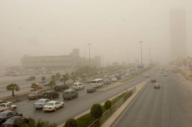 """""""الهيئة العامة للأرصاد وحماية البيئة"""": انخفاض في درجات الحرارة يصحب برياح نشطة على معظم المناطق"""