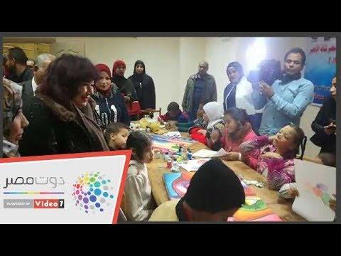 بالفيديو إفتتاح أول نادي سينما أفريقية بمدينة الأقصر بحضور وزيرة الثقافة