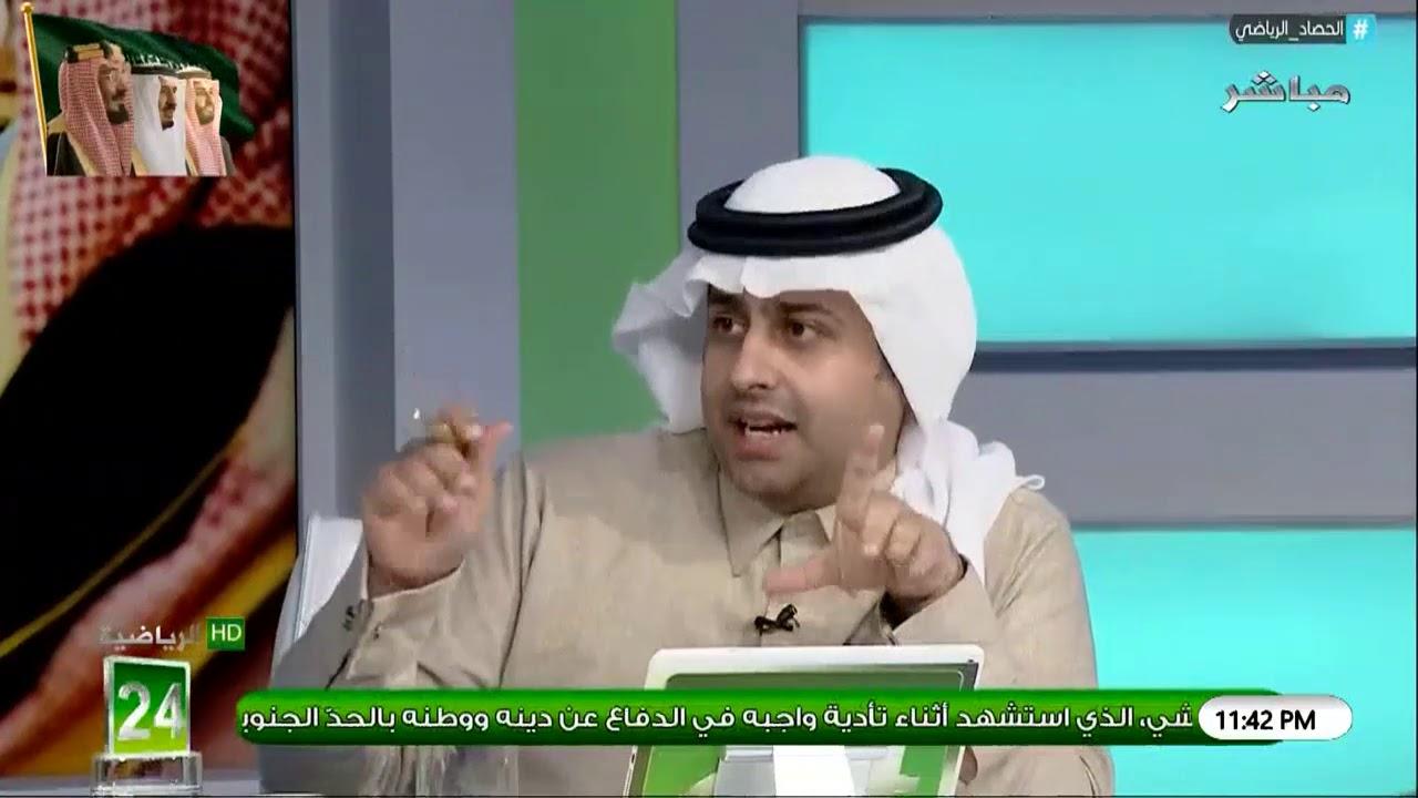 خالد الشعلان: بعد دراستي لجميع القرارات التي صدرت ضد نادي #النصر هذا الموسم وجدت انها صحيحة