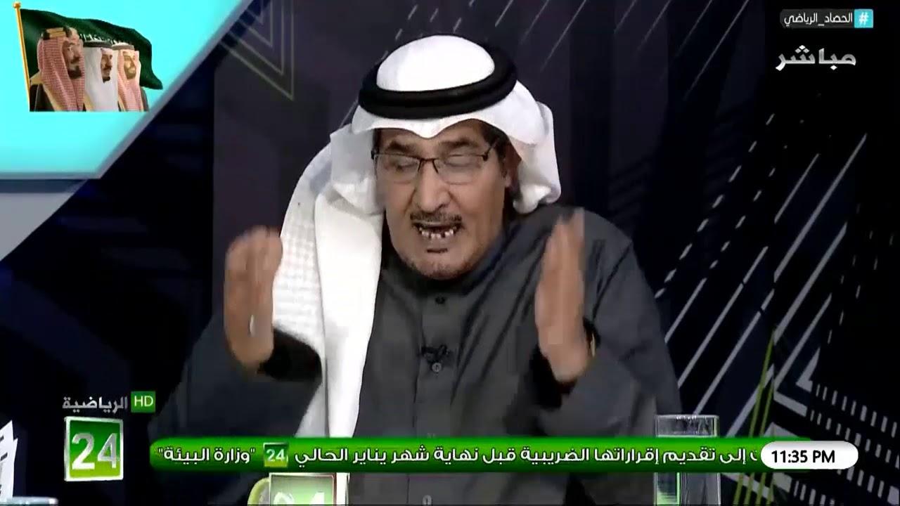 """عايد الرشيدي: من كان متضايق من """"سعود السويلم"""" لا يجب ان يضر نادي #النصر"""