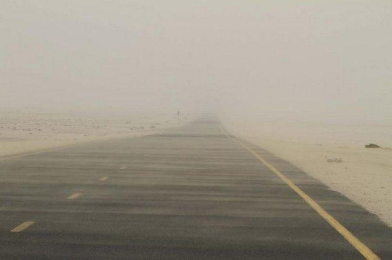 """""""الهيئة العامة للأرصاد وحماية البيئة"""": رياح مثيرة للأتربة على الشرقية ونجران والمدينة وحائل والجوف تمتد إلى الرياض"""