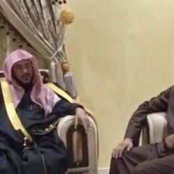 """""""الأسود"""" يحتفي بعقد قران ابنه عبدالله"""