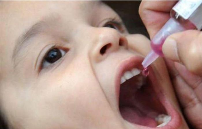 عدد الأطفال الذين تم تطعيمهم ضمن الحملة الوطنية المحدودة للتمنيع ضد شلل الأطفال يبلغ 59411