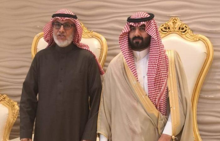 """""""العمري """" يحتفل بزواج ابنه الشاب محمد بإحدى قاعات الأفراح بالرياض"""