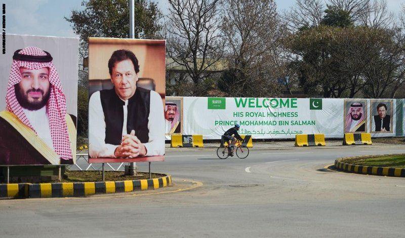"""""""عمران خان"""": المير محمد بن سلمان يحمل معه أكبر استثمارات في تاريخ باكستان"""