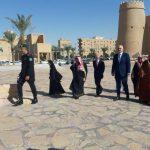 آدي راما يزور متحف المصمك التاريخي بالرياض