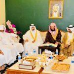 أحمد بن محمد آل جراد يحتفل بعقد قران ابنته