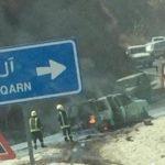 الادارة العامة للتعليم بمنطقة صيبيا : حادث معلمات الداير عرضي ولا يوجد إصابات