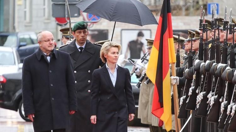 برلين لن تشارك فى ضربات عسكرية لمواقع الجيش السورى