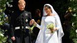 الزغاريد تظهر فى زفاف الأمير هاري وعروسه ميغان ماركل… صورة