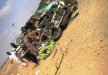 """مصرع ستة أشخاص من عائلة واحدة بحادث اصطدام على طريق الكدمي بـ""""صبيا"""""""