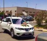عائلة تحتفل بتخرج ابنتها من كلية الطب بزفة سيارات  مسافة 300 كلم ذهاباً وإياباً من الجوف إلى عرعر