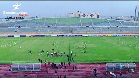 طلائع الجيش يفوز على الرجاء 2-1 فى الدورى المصرى