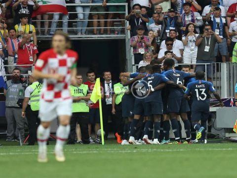بالفيديو.. ماندزوكيتش مهاجم كرواتيا يتسبب في أول هدف عكسي في تاريخ نهائيات كأس العالم