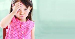 أسباب الصداع عند الأطفال