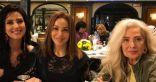 اجتماع الفنانة رغدة على العشاء مع حنان مطاوع