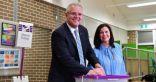 اعلان رئيس وزراء أستراليا فوزه فى الانتخابات العامة