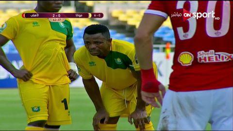 الأهلى يفوز على مونانا الجابونى 3-1  فى دورى الأبطال الإفريقى
