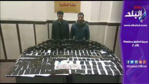 ضبط شخصين بحوزتهما 455 طربة حشيش بالإسكندرية.. فيديو