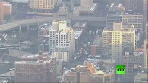 محاولة تفجير فاشلة فى نيويورك صباح اليوم…. فيديو