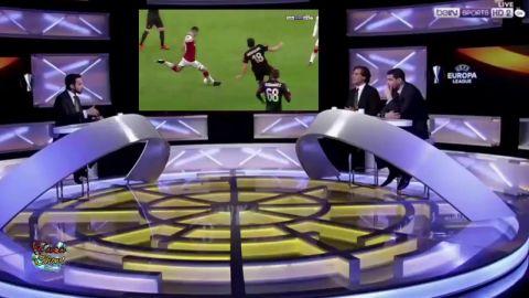 شاهد الحالات التحكيمية المثيرة للجدل فى مباراة إرسنال وميلان فى دورى الأبطال الأوروبى