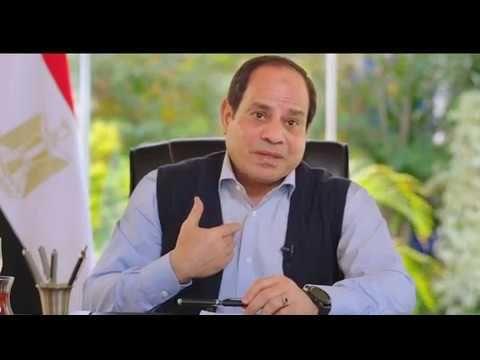 شاهد كواليس لقاء شعب ورئيس للرئيس المصرى