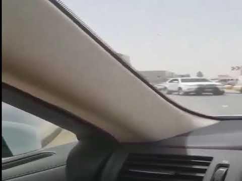 بالفيديو السيطرة على سائق متهور يقود سيارة تحمل أنابيب غاز فى الرياض