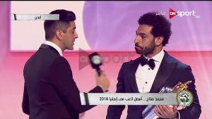 بالفيديو شاهد فوز محمد صلاح بجائزة أخسن لاعب فى البريميرليج