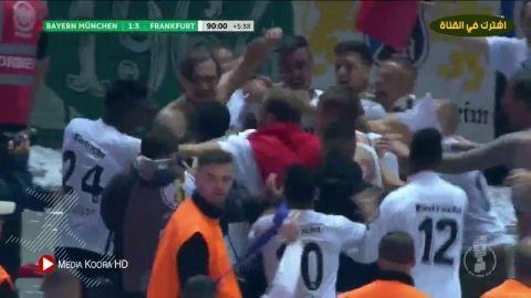 بالفيديو شاهد أهم لقطات مباراة البايرن وفرانكفروت فى نهائى الكأس