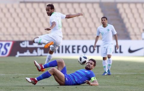 المنتخب السعودي الأول لكرة القدم يفوز على اليونان بهدفين دون رد ودياً